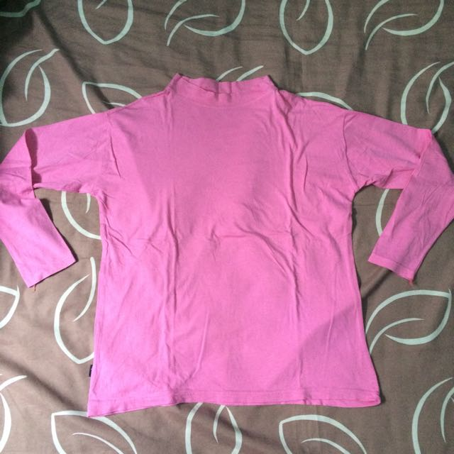 Turtle Neck Pink
