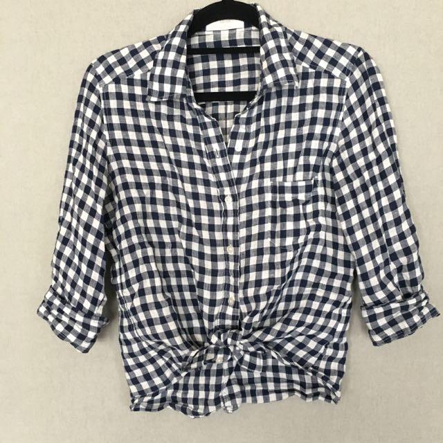 Uniqlo Checkered Shirt