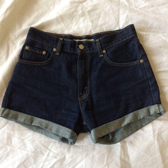 Vintage Levi's Denim Shorts Size AU 8