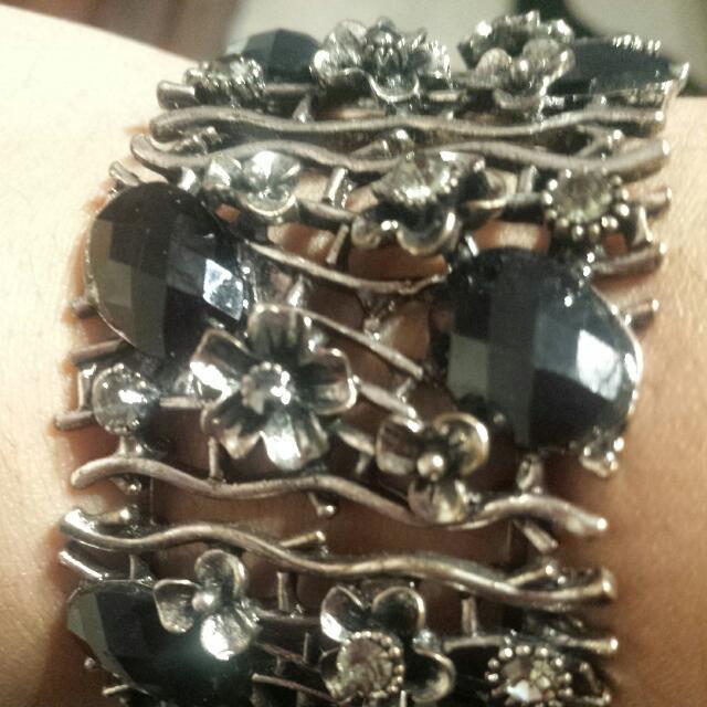 Vintage Silver Cuff Bracelet