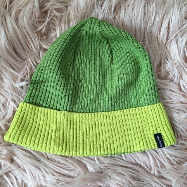 Vonzipper Green Beanie