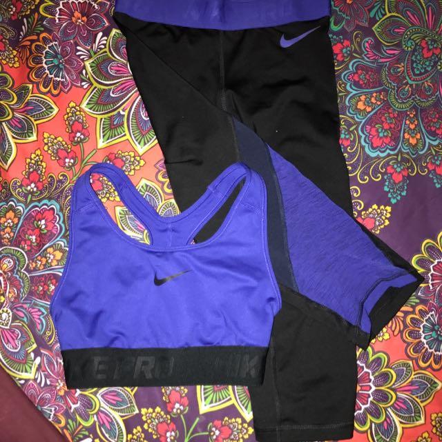 Women's Nike Pro set