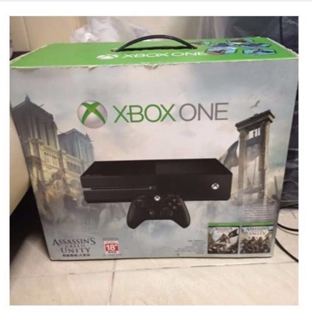 Xbox One 500gb Console Box Assassin S Creed Unity Bundle