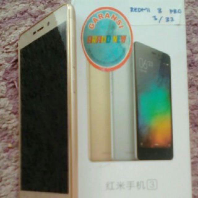 Xiaomi Redmi 3 Pro Ram 3GB/32GB Gold
