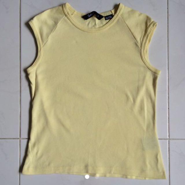 Yellow Sportsgirl Top