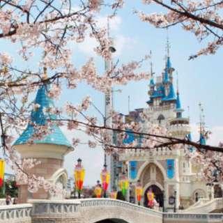 2 x Lotte World Theme Park Daily Passport Tickets (Korea Theme Park)