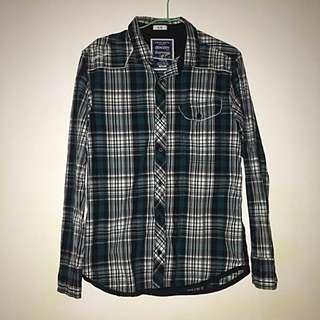 Green Flannel Shirt (men's)