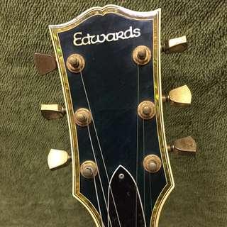 EDWARDS-LP110 日廠 電吉他 中階吉他 新手適用