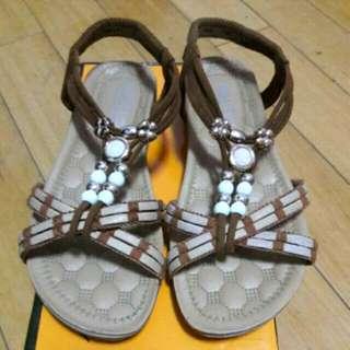 波希米亞風涼鞋
