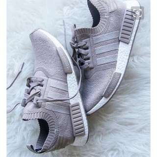 SEEKING Adidas NMD-R1 Primeknit In Vapour Grey Women's Size 7.5-8US