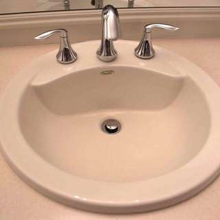 AMERICAN STANDARD ABOVE COUNTER SINK IN LINEN