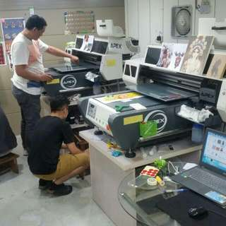 🚚 UV光固化直噴印刷機台