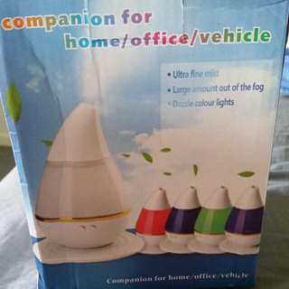A Colorful Atomization Humidifier