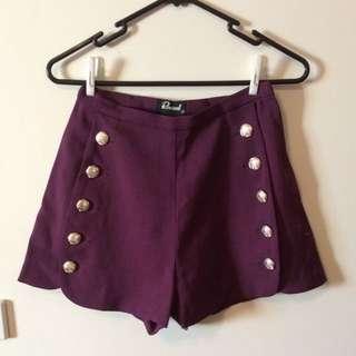 Revival Shorts - Size 8