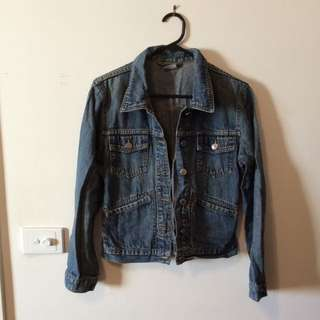 Denim Jacket - Size 10