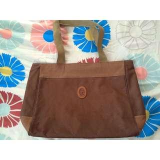 Confetti Brown Oversized Bag