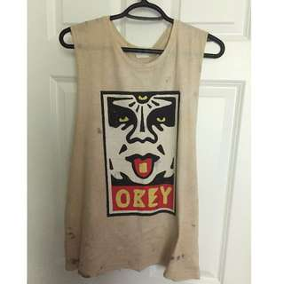 OBEY Muscle Tee size M NWT