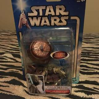 MIB Star Wars Attack Of The Clones Yoda