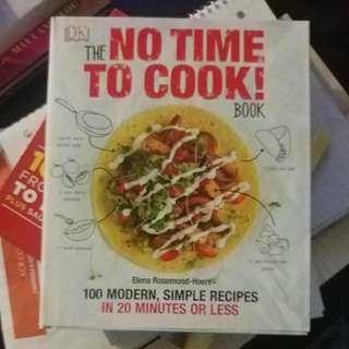 No Time To Cook Cook Book