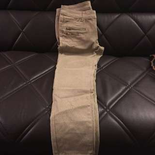 Beige Pants Size 38 Never Used