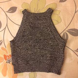 Forever 21 Cami Knitted Crop Top