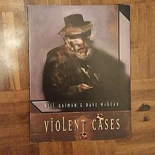 Violent Cases by Neil Gailman and Dave McKean