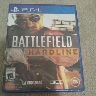 Brand New Sealed Battlefield Hardline PS4 PlayStation 4