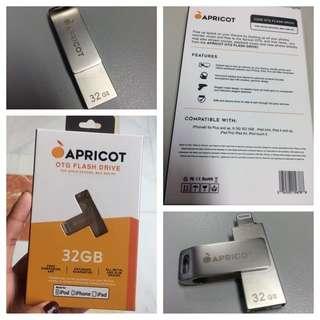 Authentic APRICOT OTG USB