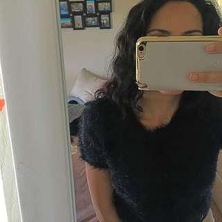Dotti Furry Tshirt Jumper