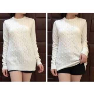 #I012-TE knit white sz S88 pjg60cm bhn knit bagus ECER @95rb GROSIR @78rb Original
