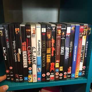 Variety of Drama DVDs