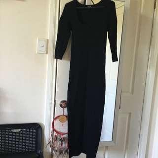 Bardot Bodycon Ankle Length Dress