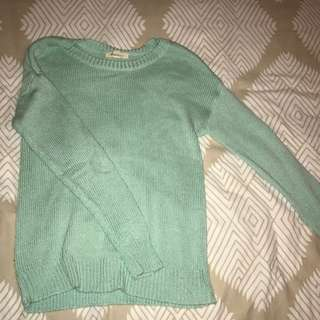 Forever 21 Mint Green Knit
