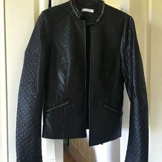 Faux Leather jacket From France.