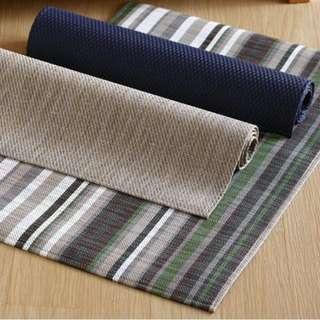HOLA Home 特斯勒時尚編織踏墊 (條紋)