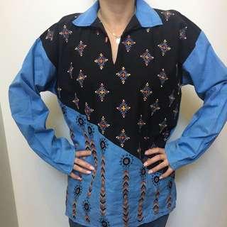⚡Vintage Original 70's Boho Shirt ⚡