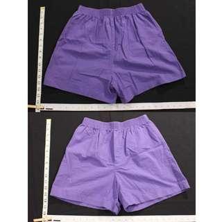 Brandless Purple Shorts