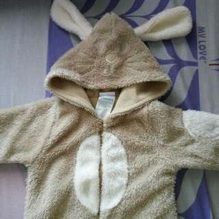 Brown Bunny Costume (Jumper)