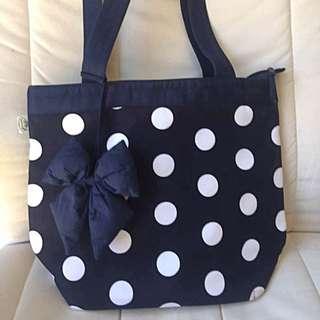 Naraya Polkadot Shoulder Bag