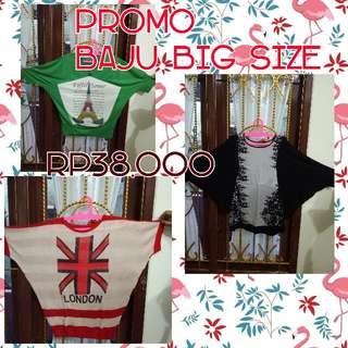 Baju Big Size / Baju Ukuran Besar