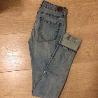 Lightwash Cigarette Jeans