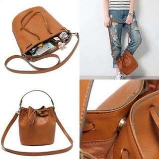 [FREE ONGKIR] Pull & Bear Bucket Bag