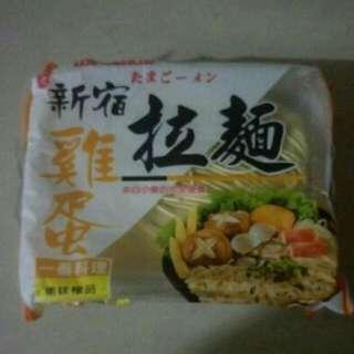 🚚 新宿雞蛋拉麵(210g)