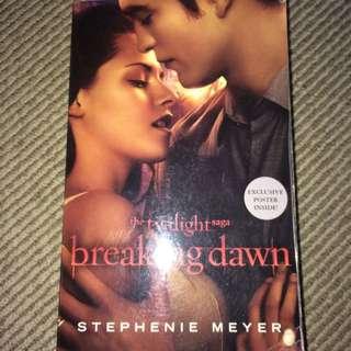 Breaking Dawn Twilight By Stephanie Meyer