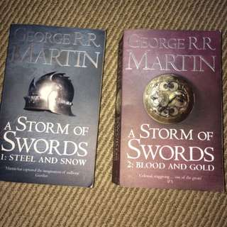 A Storm Of Swords By George R.R Martin