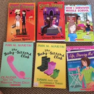 Age 9-13 Fiction Books