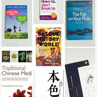Assorted Books Starts From $3