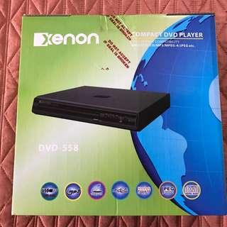 Xenon Compact DVD Player