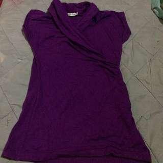 Purple Stylish Blouse