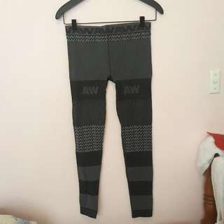 Alexander Wang X HM Jacquard-knit Leggings